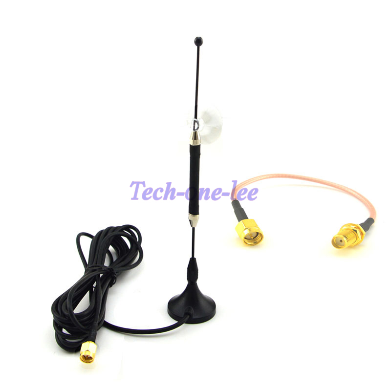 Antenne 10 pièce/lot 4G 10dbi LTE antenne 698-960/1700-2700 Mhz SMA magnétique pour 4G lte + SMA prise mâle à SMA femelle RG316 15 cm