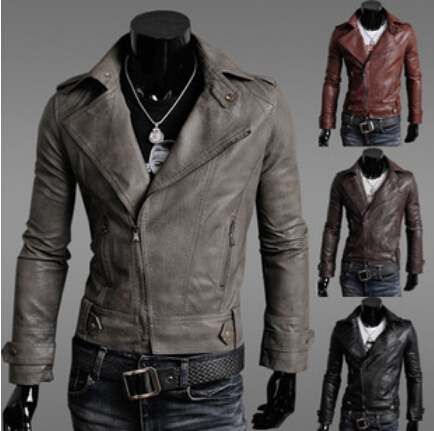 Compare Prices on Short Leather Jackets for Men- Online Shopping ...