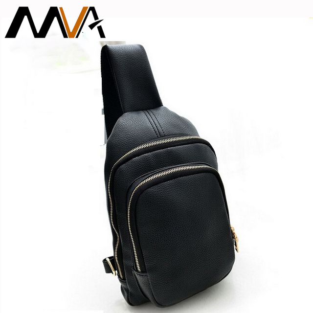 783d5d2116 Fashion Men Bags PU Leather Men Crossbody Bags Business Man Shoulder  Messenger Bag Work Chest Pack Male Small Bag Free Shipping
