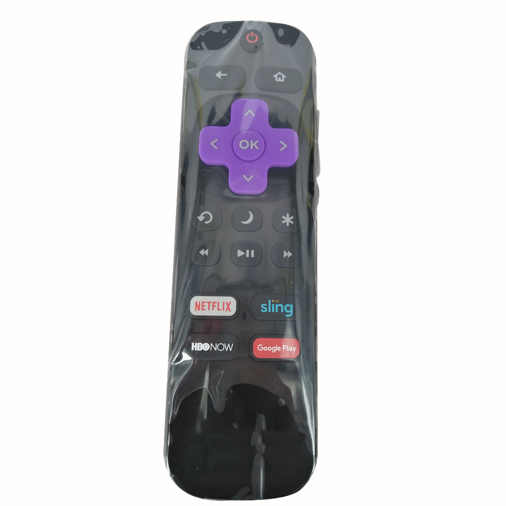 New Remote Control NS-RCRUDUS-17 For INSIGNIA ROKU TV Remote Control With NETFLIX SLING HBONOW GOOGLE Buttons ...
