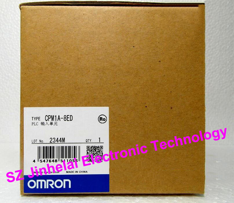 100% New and original OMRON PLC Input unit  CPM1A-8ED new and original e3x da11 s omron optical fiber amplifier photoelectric switch 12 24vdc