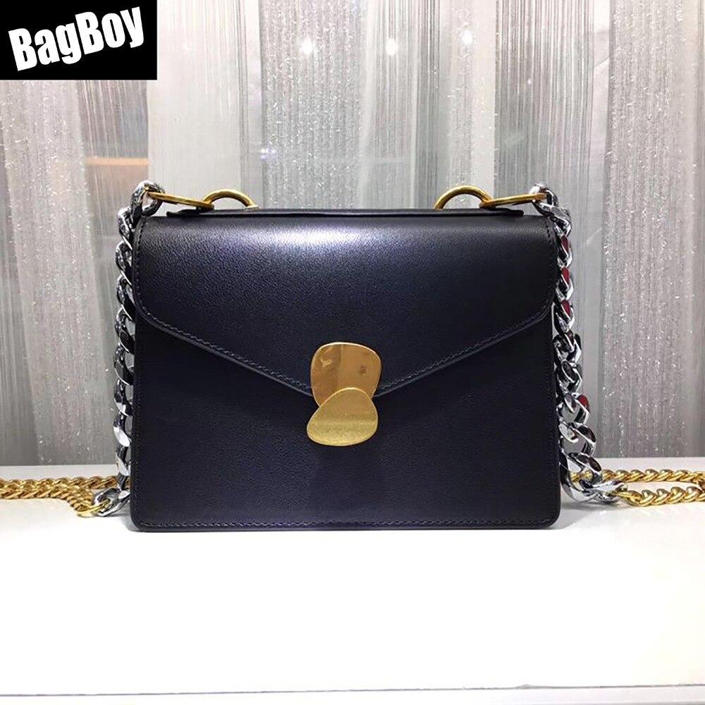 BagBoy loisirs Mini anneau serrure Messenger sac, sacs à main de luxe femmes sacs Designer, sac à bandoulière 2018, sac à bandoulière chaîne pour les femmes