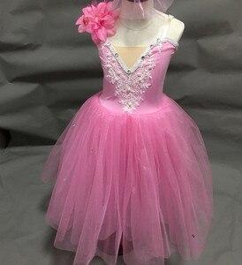 Image 2 - ballerina dress for kids girls adult women ballet dress tutu girls modern dance costume ballet costumes for adult girls women