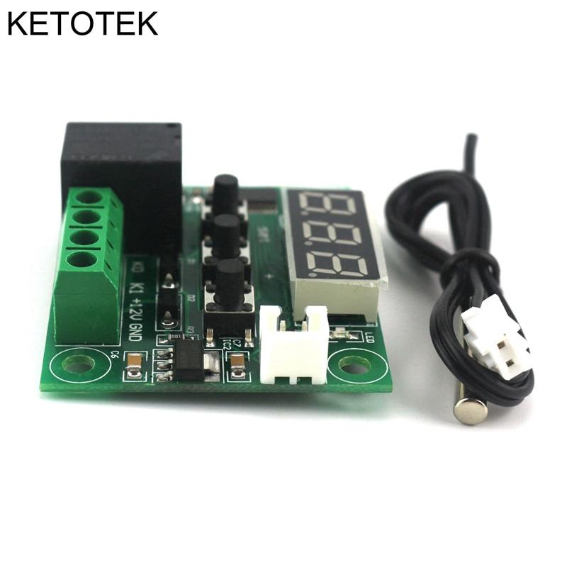DC 12V Controlador digital de temperatura del interruptor de - Instrumentos de medición - foto 5