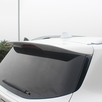 Car Accessories Exterior ABS Plastic Unpainted Primer Rear Wing Spoiler Decoration For Ford Escape Kuga 2013