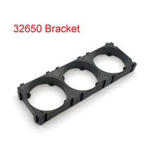 32650 3x Battery Holder Bracket Cell Safety Anti Vibration Plastic Brackets For 32650 Batteries(China)
