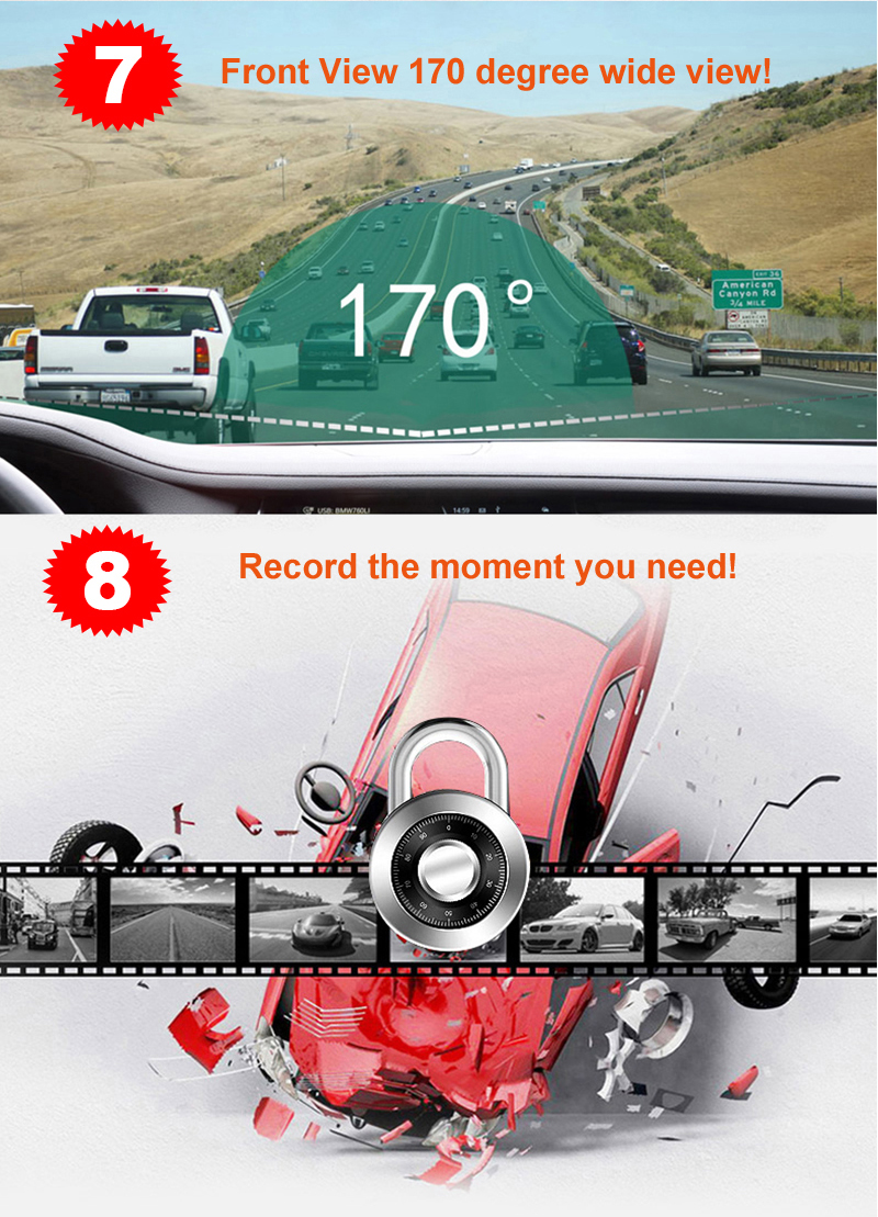 HD NIGHT VISION WIFI DVR BLACKBOX CAR VIDEO RECORDER CAMERA RECORDER CARCAM 1080P 96658 NOVATEK DUAL CAMERA DUAL LENS (3) -