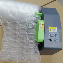 Multifunktionale kissen air kissen inflator blase film maschine verbunden blase tasche füllung verpackung inflator