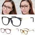 Retro Mujeres Miopía gafas Gafas de Lente Transparente Marco Meral Pierna Vidrios Ópticos Nuevo