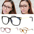 Retro Women Myopia Eyeglasses Eyewear Clear Lens Meral Leg Frame Optical Glasses New