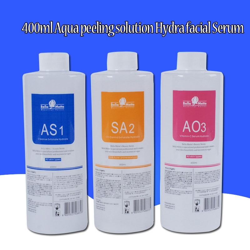 100% South Korea Imports Aqua Peeling Solution 400ml Per Bottle Aqua Facial Serum Hydra Facial Serum For Normal Skin Free Shippi