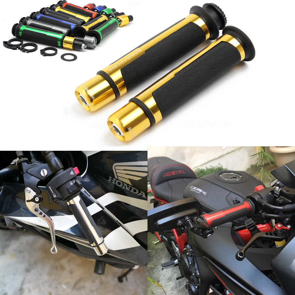"7 Color Motorcycle Rubber Hand Grips 7//8/"" For Honda CBR600RR Suzuki GSXR600 750"