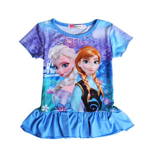 Rorychen Summer Princess Kids Baby Girl Dress Children