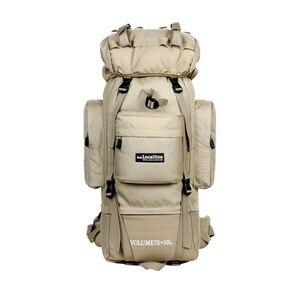 Image 2 - LOCALLION büyük 85L açık çanta tırmanma sırt çantaları yürüyüş çok fonksiyonlu sırt çantası büyük kapasiteli sırt çantası kamp spor çantaları