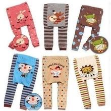 Повседневные штаны для маленьких мальчиков; штаны; детские колготки; Животные в полоску; леггинсы для маленьких девочек; брюки для мальчиков; Одежда для новорожденных