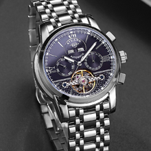 цена на 2018 new Ai Lang hollow automatic mechanical watches waterproof special forces watches men's military watch fashion tide