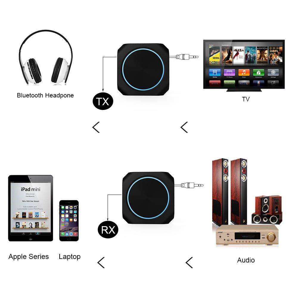 ZW-420 3.5mm simsiz Bluetooth qəbuledici avtomobili Bluetooth - Portativ audio və video - Fotoqrafiya 6