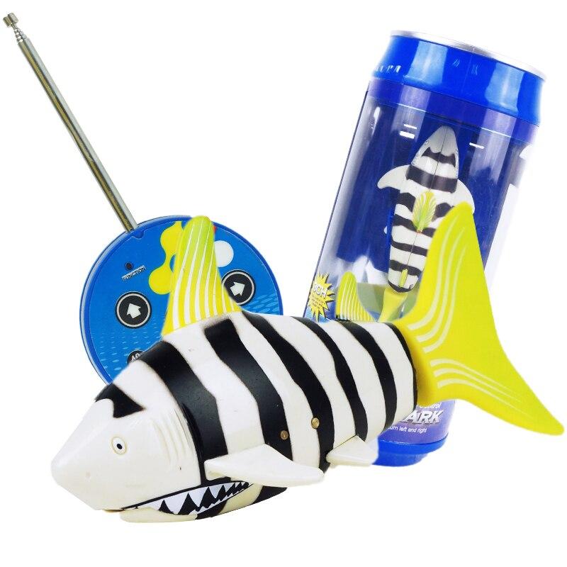 Control remoto Mini RC Shark juguete electrónico Fish Ocean Animal - Juguetes con control remoto - foto 4