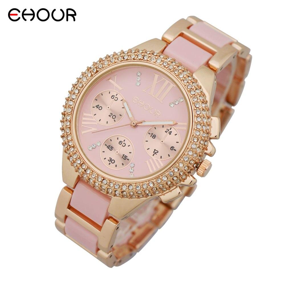 Nuevo 2015 Fashion Geneva Golden Metal Reloj de pulsera de cuarzo - Relojes para hombres - foto 5