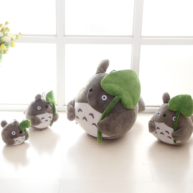 Magnificent Us 7 48 25 Off Christmas Totoro With Lotus Kawaii Doll Sofa Bed Car Hayao Animation Plush Luck Stuffed Child Toy Birthday Xams Gift Dash Pillow In Andrewgaddart Wooden Chair Designs For Living Room Andrewgaddartcom