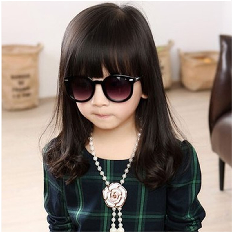 2018 Children Boys Girls Sun Glasses Child Plastic Frame Rivet Colorful Goggles SHADES EyewearMecol  Kids Sunglasses