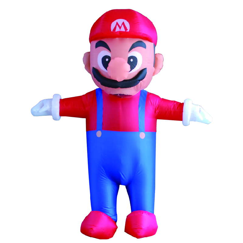 Inflatable Costume Super Mario  Love Live Cosplay For Purim Halloween Christmas Street Performance Business Celebration Costume