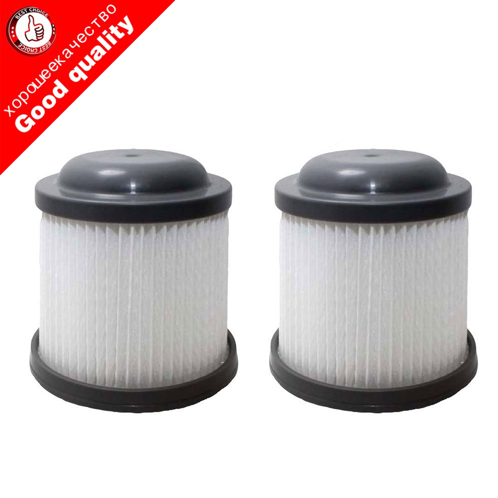 2pcs Replacement For Black & Decker Filter Fits PVF110, PHV1210 & PHV1810 Vacuums, Compatible With Part # 90552433,2 Pack