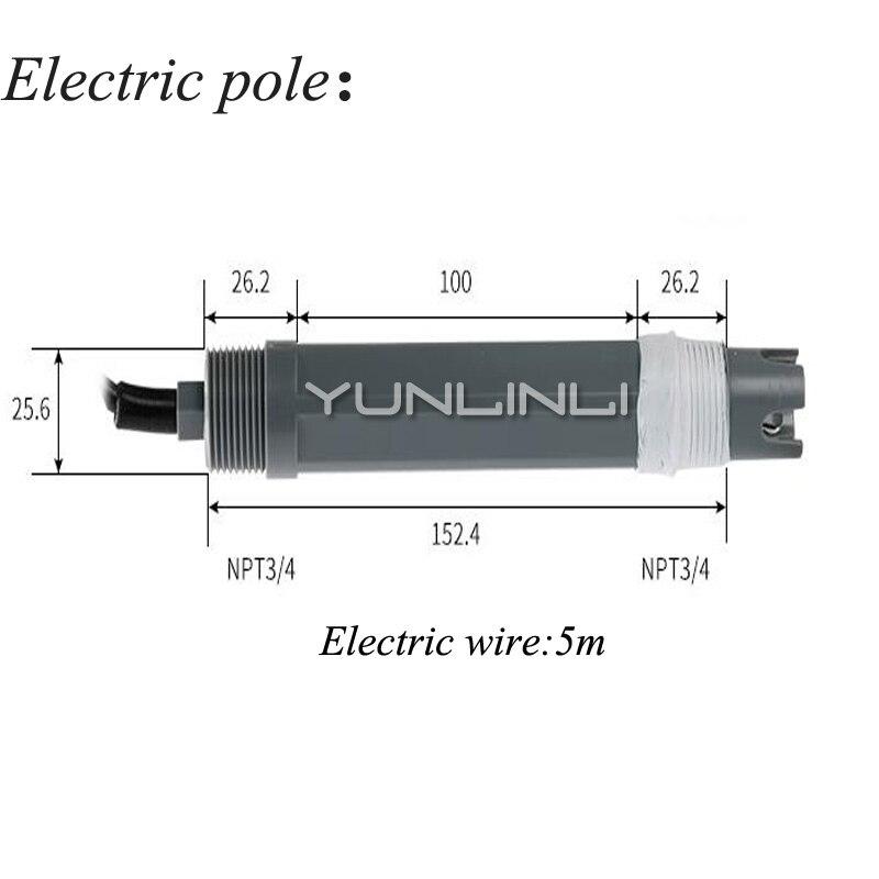 Contrôleur de PH moniteur en ligne industriel numérique 0.02pH 1mV alarme de contrôle de limite inférieure supérieure contrôleur de PH SIN-PH160 - 2