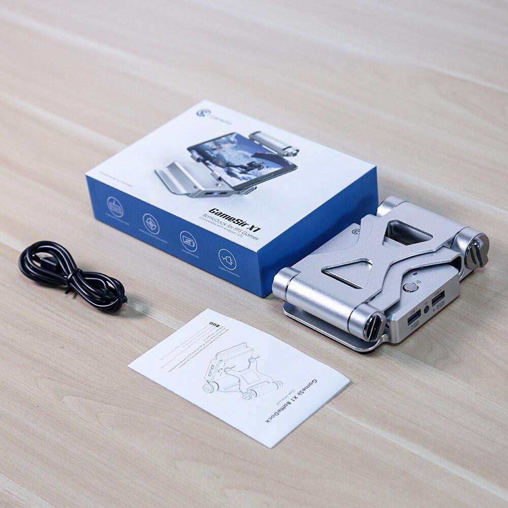 GameSir X1 BattleDock Convertisseur Stand D'accueil pour FPS jeux, En Utilisant avec clavier et souris, Portable Téléphone Titulaire - 6