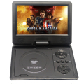 9 Inch Portable DVD Player With Rechargeable Battery FM TV Game SD Card USB Port Headphone OSD Menu VCD/SVCD/DVCD/CD/DVD Player
