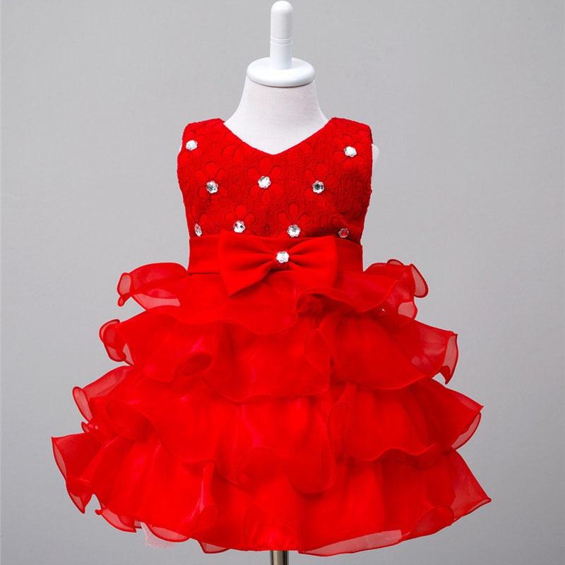 все цены на Formal Diamond Bow Christening Party Dress Girl Children Bow Pattern Wedding Birthday Baptism Party V-Neck Dress 2 3 4 5 6 Year