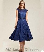 Marineblau Elegantes Cocktailkleid 2016 Wulstige Kristalle Spitze Weg Von Der Schulter Party Kleider Kurze Kleider Vestido De Festa Curto