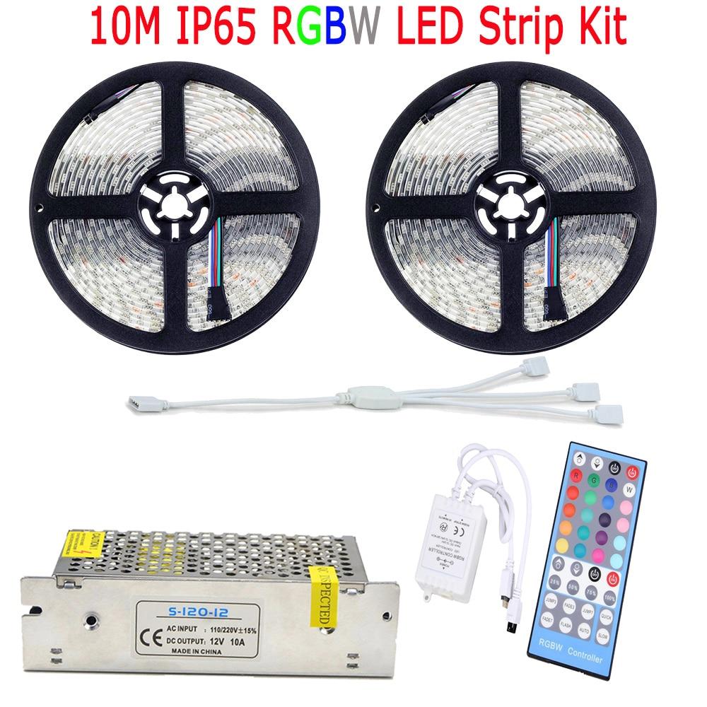 15M 20M 10M 5050 RGBW RGBWW Жарық диодты жолағы IP65 - LED Жарықтандыру - фото 3