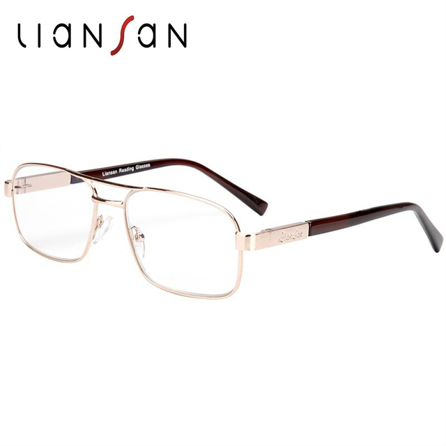af0ef097d4a3 LianSan Vintage Retro Alloy Anti-radiation Eyewear Reading Glasses Women Men  Brand Designer Hyperopia Presbyopic L7299
