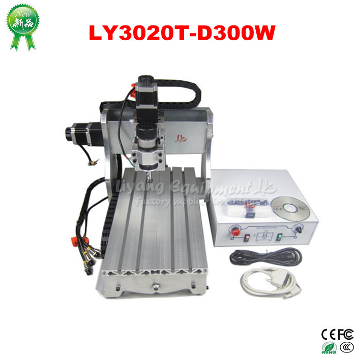 Newest LY3020T-D300W CNC Router Engraver Drilling Milling Machine cnc 5axis a aixs rotary axis t chuck type for cnc router cnc milling machine best quality