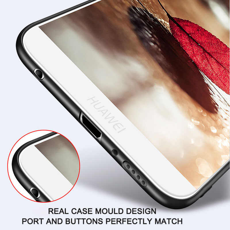 Huawei Honor 7A Pro Чехол 7X 6A 7 S мягкий чехол для huawei Honor 10 9 Lite 8X Max чехол Play 6X 8A 8C 7C Pro защитный силиконовый чехол