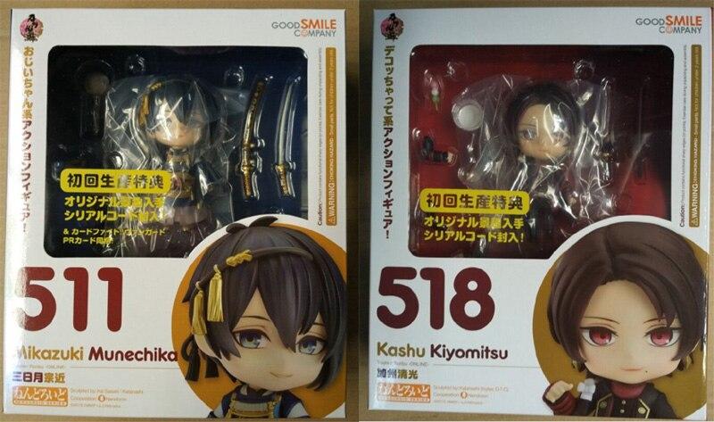 "Anime Touken Ranbu Nendoroid Online Kashuu Kiyomitsu 4/"" Action Figure Toy in Box"