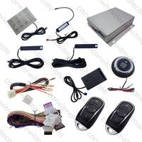 Smartkey RFID PKE Автомобильная сигнализация с вибраПредупреждение предупреждение Пассивный Автозапуск и Push Start пульт дистанционного запуска умн