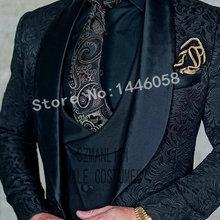 SZMANLIZI Mens Wedding Suits 2019 Italian Design Custom Made