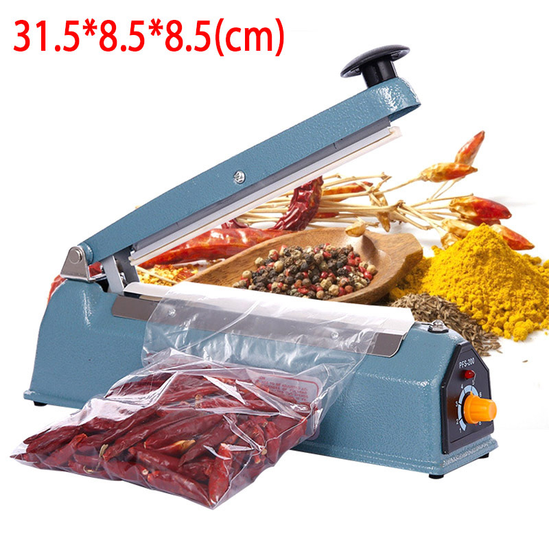 Food Vacuum Sealer Portable Heat Reseal Save Bag Airtight Plastic Handheld Capping Tool MachinePacker Closer Free Shipping