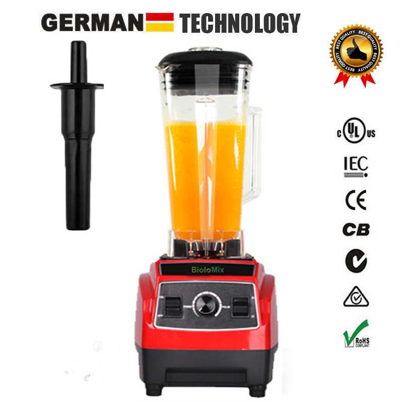 RU только 3HP 2200 Вт BPA бесплатно 2L коммерческий мощный блендер миксер кухонная Соковыжималка кухонный комбайн ледяной коктейль фрукты
