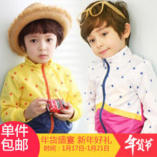2016 autumn boys clothing girls clothing baby child long-sleeve trench Jacket coat outerwear