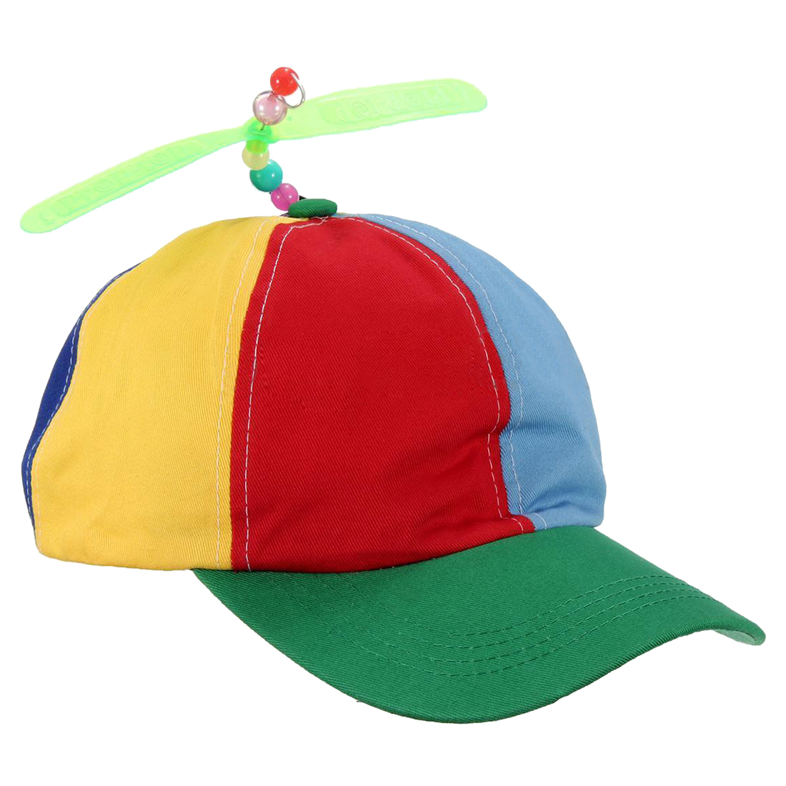 864d1d7aaa6a5 Adjustable Propeller Ball Cap Hat Multi Color Clown Costume Accessory-in  Baseball Caps from Men s Clothing   Accessories on Aliexpress.com