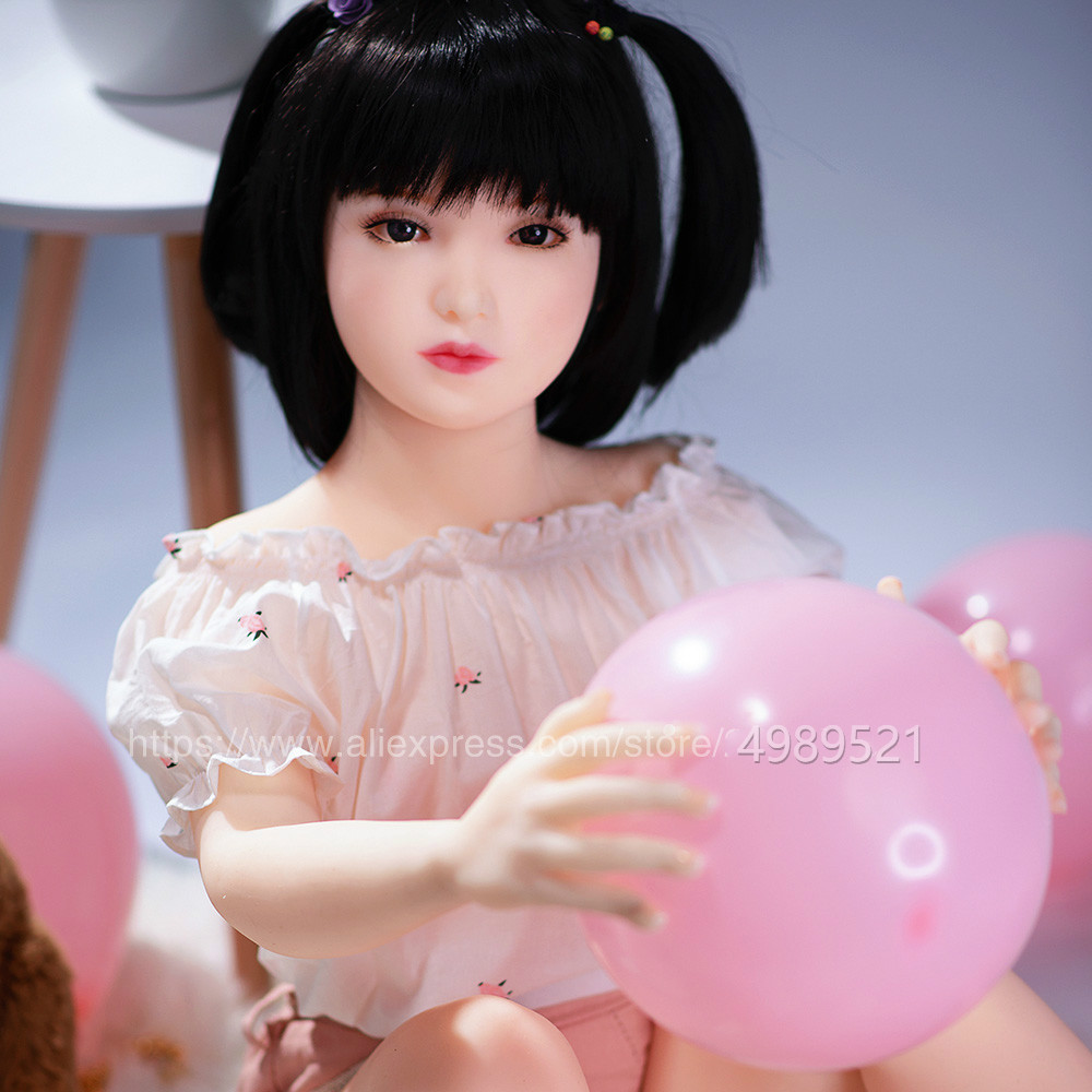 120cm lifelike Japanese real silicone sex love dolls adult small breast skeleton Japan Asian oral head TPE Top quality