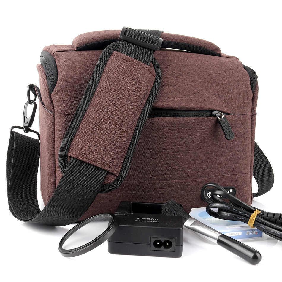 DSLR Camera Bag Case Voor Sony alpha A7III A7 iii ii a7m3 a7Riii HX400 RX10 IV III II A57 A58 a99 A77 II A6500 A6000 A6300 A5000