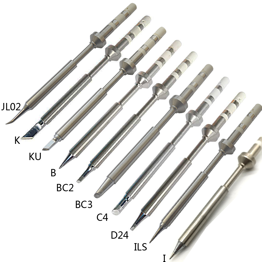 1PCS TS100 Electric Soldering Iron Tips Lead Replacement Various Models Tip TS-K KU I D24 BC2 C4 BC3 ILS JL02 B 10 Kinds Choose