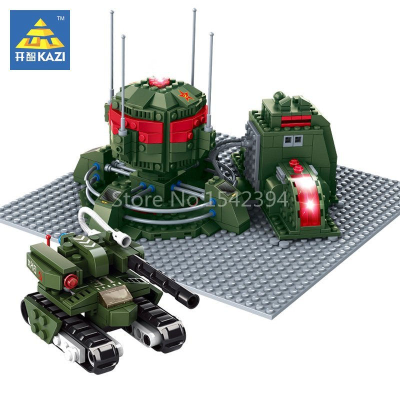 KAZI Iron Curtain Red Alert 3 Army Tank Educational Building Brick Plastic Model Kits Gift Toys For Children Construction Blocks купить