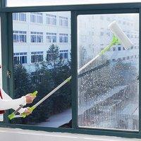 Window Glass Cleaner Tool Household Portable Double Side Window Glass Cleaning Brush Tools Wholesale Brush Cleaner