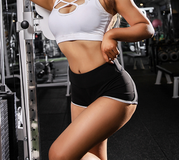 Hot sexy Sports Exercise Shorts Women Yoga Shorts Low Waisted Sexy Peach Hips Quick Dry Fitness Running Gym Shorts 3