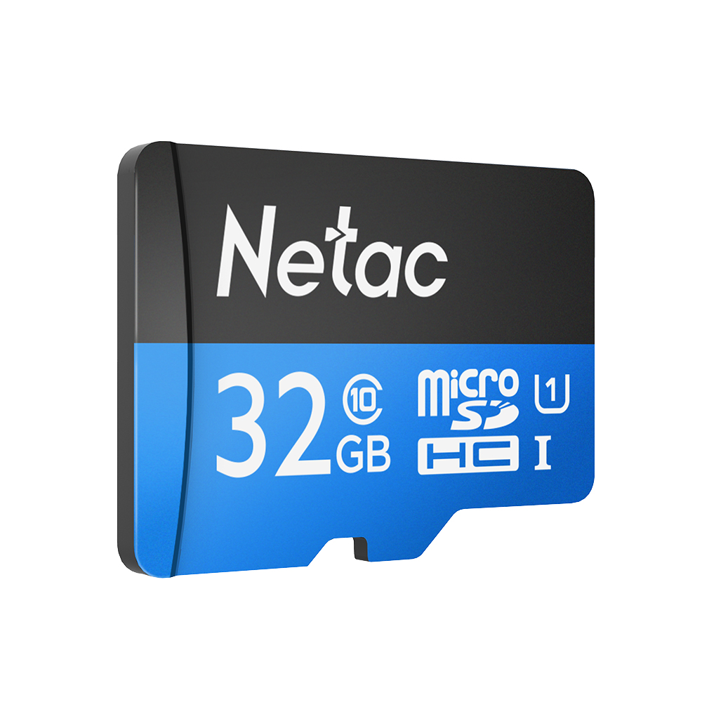 Netac P500 Class 10 32GB 32G 64GB 128GB Micro SDHC TF Flash Memory Card Data Storage UHS-1 Up to 80/90MB/s memory cards netac class 10 16gb 32gb micro card sdhc tf card flash memory card data storage high speed 80mb s micro sd card for phone